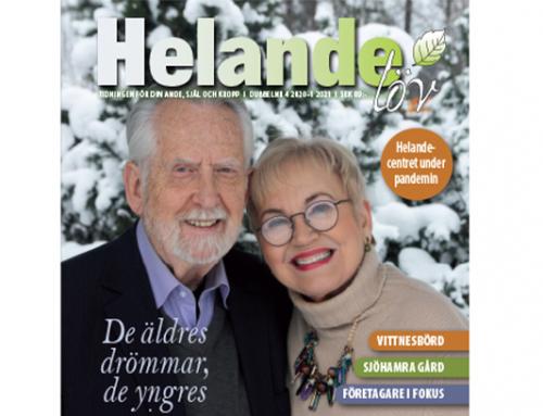 Ett jubileumsnummer av tidningen har kommit ut! Helande Löv firar 30-års jubileum!